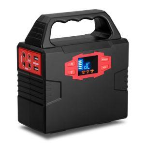 Alimentación portátil Batería de litio generador solar generador Inverter 150Wh