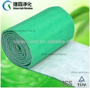 Bleu et blanc et de Polyester de cabine de pulvérisation pré filtre à air