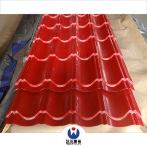 Strati rivestiti del tetto di colore variopinto