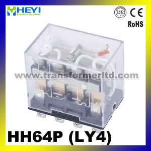 Pin général du relais électrique 14 du relais Ly4 de courant alternatif