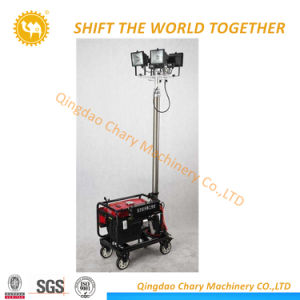 9m Mobile Trailer Light Tower Powered