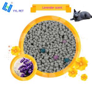 Lettiera della bentonite del profumo della lavanda per la toletta dei gatti