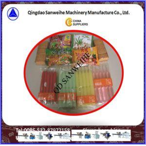 内部のタイヤ管の自動包装機械