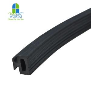 Custom varias tiras de decoración de la junta de goma del parabrisas el borde metálico de perfil de caucho EPDM de bandas de sellado