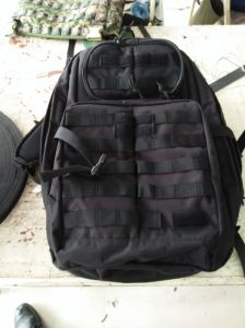 Heavy Duty Armée militaire Big Black sac à dos -CB001