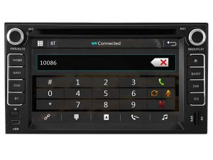 Lecteur de DVD spécial Witson voiture avec GPS pour Kia Sportage