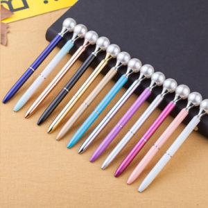 Perla Novedad promocional Regalo de Metal Pen Bolígrafo Logotipo personalizado