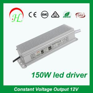 AC230V de CC12V DC24V TIRA DE LEDS resistente al agua 150W Fuente de alimentación