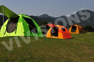 Il PVC impermeabile di 100% ha ricoperto la tenda di campeggio su ordinazione della stampa