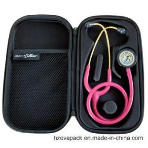 Caixa do Zipper do estetoscópio de EVA da Quake-Prova para o doutor
