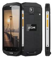 AGM van 5.0 Duim A8 IP68 de Waterdichte Kern van de Vierling van de Telefoon 3GB+32GB 4G Lte Smartphone Zug 5s