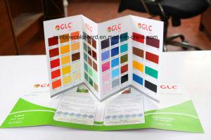 Alta calidad personalizada tarjeta de color para productos químicos