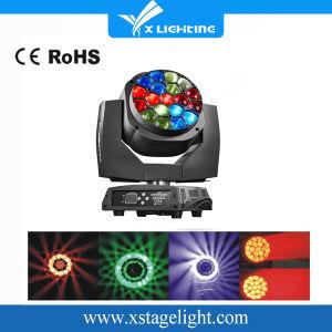 B-Eye K10 Iluminação de palco 19HP 15W LED RGBW Cabeça Móvel