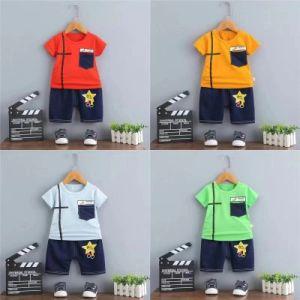 Les enfants de loisirs de haute qualité de l'impression T shirt et pantalon Boutique de vêtements bébé garçon