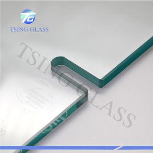 La coupe à blanc/perçage de trous/Rainure en verre trempé avec bord poli