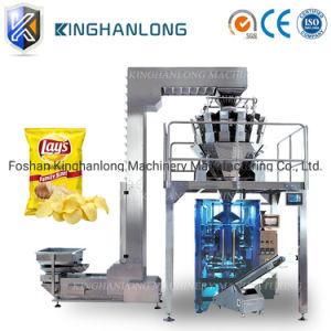 Automatic Potato Chip / Dulces / Tuerca / Aperitivos / bolsa de palomitas de maíz de los sistemas de pesaje de la máquina de embalaje El embalaje de alimentos