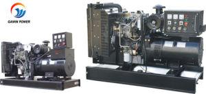 Tipo Aberta/silenciosa conjunto gerador a diesel com motor Perkins