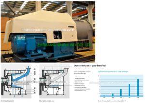 De Opdringer van twee Stadia centrifugeert voor Chemisch Proces