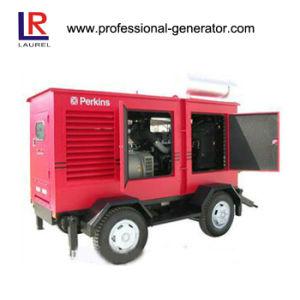 Faible bruit de générateur diesel générateur de remorque mobile 150-500kw