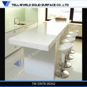 [كيتشن تبل] حديثة, مطبخ مقعد طاولة اصطناعيّة رخاميّة علبيّة