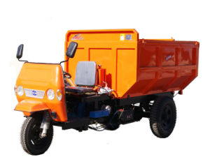 Garbage Bucket (BM-20G)를 가진 3 바퀴 Motorcycle