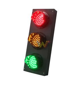 Muffa personalizzata mini 100mm indicatore luminoso del segnale stradale delle 3 unità LED