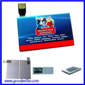 Кредитная карта флэш-накопитель USB 2.0