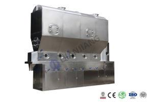 Secador de lecho fluido continuo horizontal