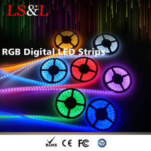Striscia flessibile impermeabile dell'indicatore luminoso al neon del LED RGB con Ce&RoHS