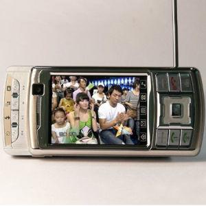 Doppeltes seitliches gleitenes Schirm Fernsehapparat-Telefon (ZT K9000)