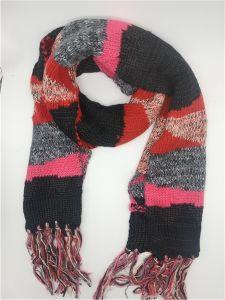 Tejidos Invierno de la mujer más de moda varios colores cálida bufanda