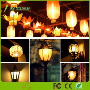 Feira natural da lâmpada da luz de LED de cor 3 Modo de instantes 2W G4 Lâmpada de chama de LED
