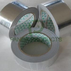 アルミホイルの粘着テープ