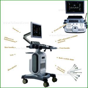 Máquina de diagnóstico Hospital Digital 4D ecografía Doppler Color Scanner FM-580c