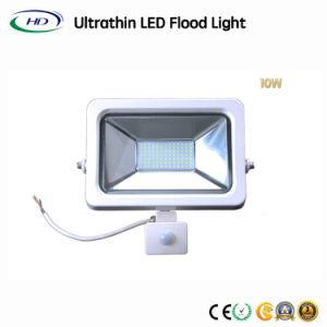 PIRセンサーが付いている高内腔10W SMD LEDの洪水ライト