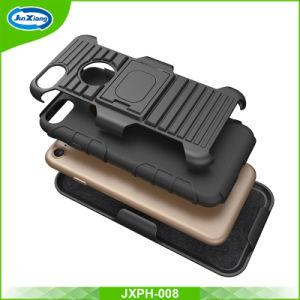 iPhoneのための標準的な多機能のゴム製移動式カバー車の電話ホールダーが付いている8/7のプラスチックケース