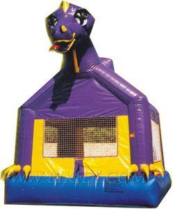 Casas de Bouncer Bouncer Dino inflables castillos (B1071)