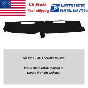 Nós Dashmat Painel da Tampa do Painel de bordo Mat para 1981-1987 Chevrolet Tamanho Completo