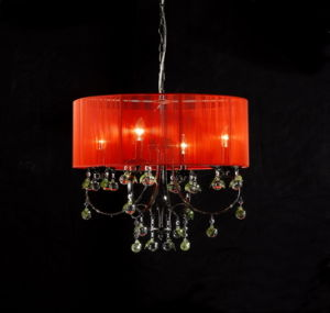 Hotel-moderne dekorative Leuchter-Farbton-Lichter (cos9245)