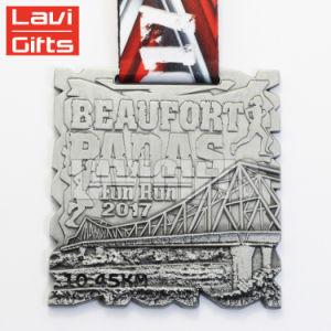 Caliente más reciente de la venta directa de fábrica de metal personalizados Souvenir Premio Medalla de viajes