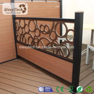 Patentierter Zaun des Produkt-im Freien Privatleben-Garten-WPC mit UVwiderstand