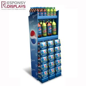 La publicité personnalisée POS solide en acier boissons et des boissons non alcoolisées afficher