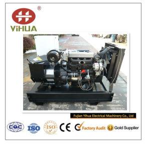 20kwディーゼルはYangdongの経済的なディーゼル機関Y490d/24kwによってGENセットした