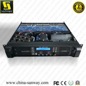 D10q 4CH professionnel numérique de haute puissance Amplificateur Audio DSP le président pour la plage complète de haut-parleurs et Line Array Sound System