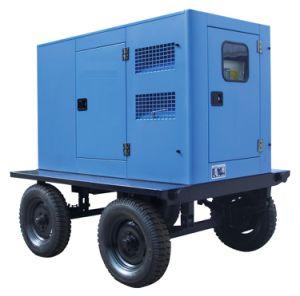 China gerador diesel venda quente do tipo de reboque com o famoso alternador e motor