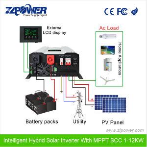 7KW 8 kw 9 kw 10kw 11kw 12KW AC para DC Inversor Solar
