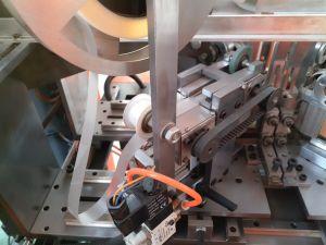 Cinta adhesiva de alta calidad caja automática de la esquina de pegar la máquina
