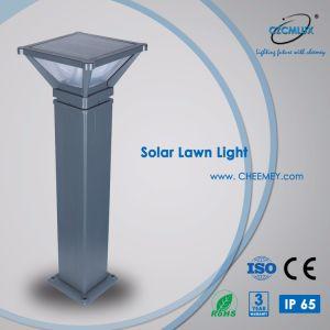 LED de aluminio de fundición de la luz solar césped iluminación de jardín