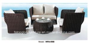 Утюг рамы PE плетеной мебелью для отдыха набор диван для установки вне помещений