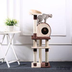 Estrutura de escalada Big Cat Exportar Serapilheira Cat Cat Tree Cat Scratch Board Sisal Cat Jumping Cat Cat fornece Cat Cat Toy